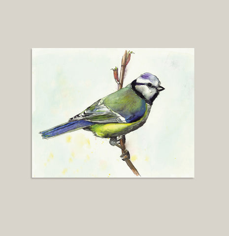 COLORFUL BIRD - Signature Collection - Art Print in 2 Sizes