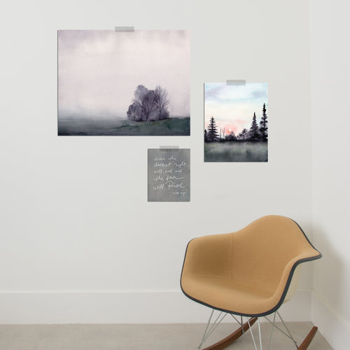 Echoes of Dawn Gallery Wall Set of Three