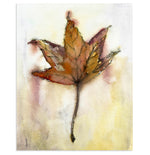 """Leaf Study"" Fall Leaf Art Print"