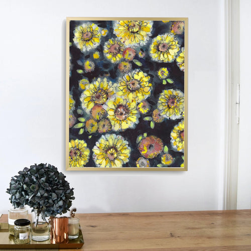 """Mum Day"" Floral Art Print"