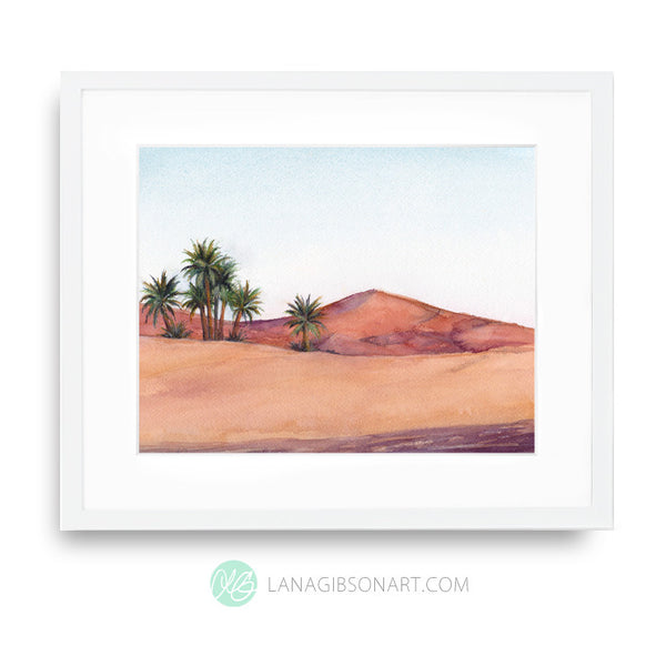Sahara Heat - Moroccan Spice Collection - Art Print in 2 Sizes
