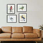 Birdsong Gallery Wall Set of Four