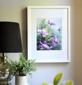 """To the Sky"" Floral Art Print - January Print of the Month"