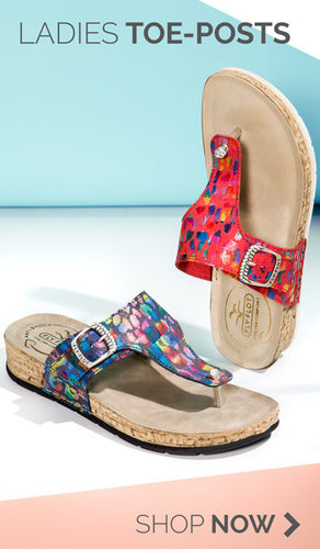 Fly Flot, buy the latest Ladies Toe-Post Sandals from our summer collection.