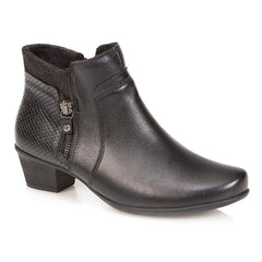Ankle Boot with Stack Heel - RDSOF26000 / 311 121