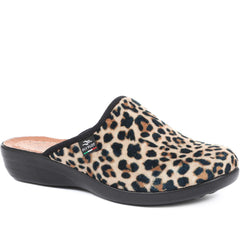 Leopard Print Slipper Clogs for Women - FLY32015 / 318 592