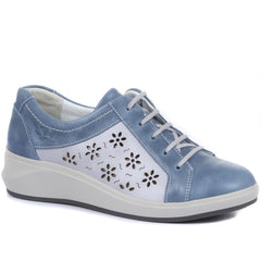Leather Lace-Up Shoes - CAL33013 / 319 508