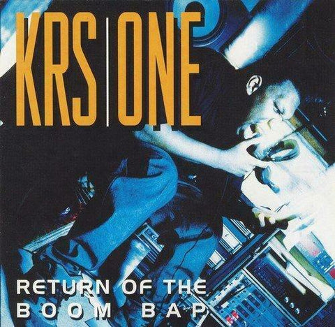 Krs one Return of the boom bap LP (limited edition)
