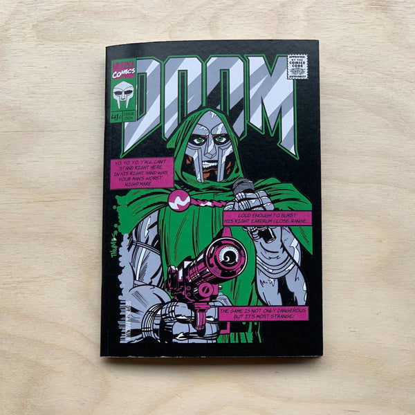 DR DOOM A6 Notebook