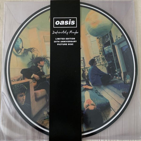 Oasis - Definitely Maybe 2 x LP ( LRC release)
