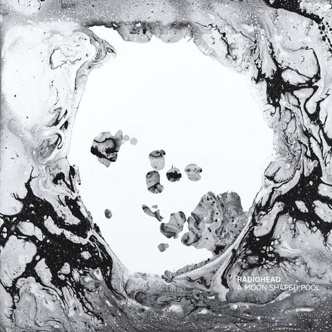 RADIOHEAD A MOON SHAPED POOL LP (LRC RELEASE)