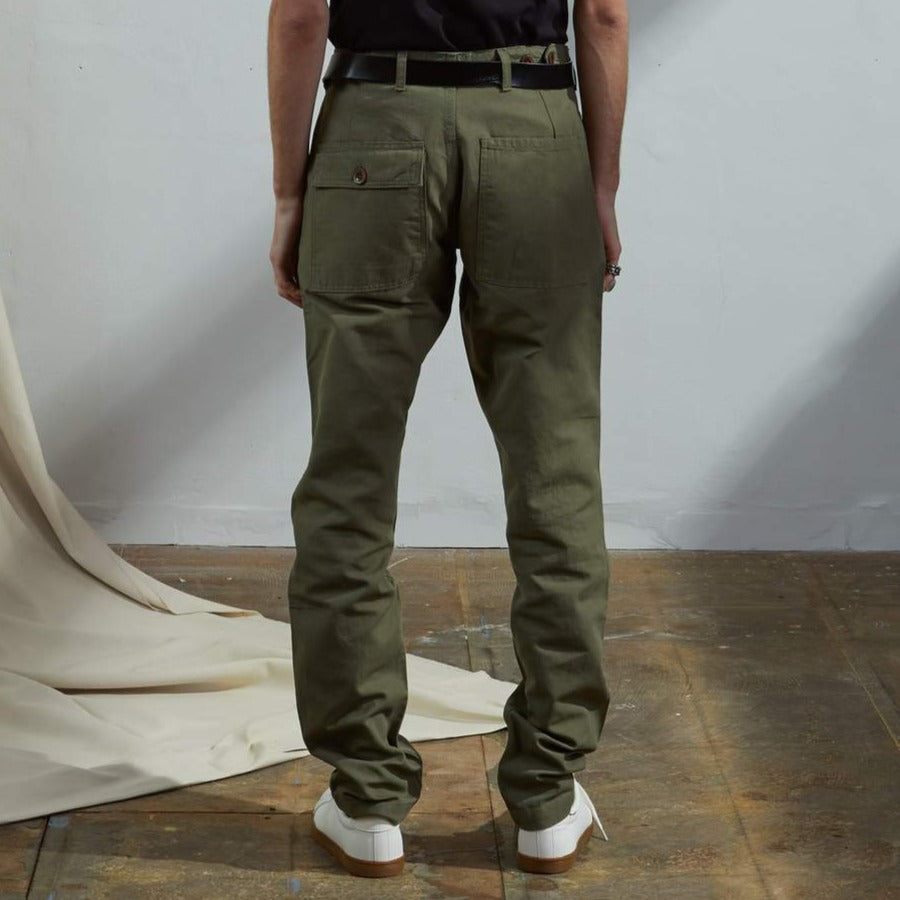 Workwear pants Army green