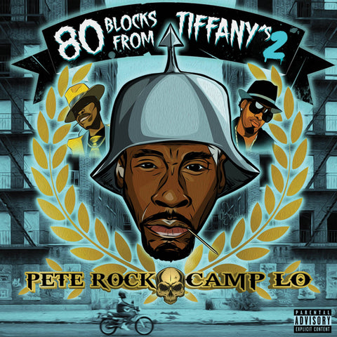 Pete Rock x Camp Lo - 80 Blocks From Tiffany's II (2xLP)