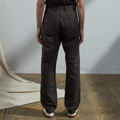 Workwear pants Faded black