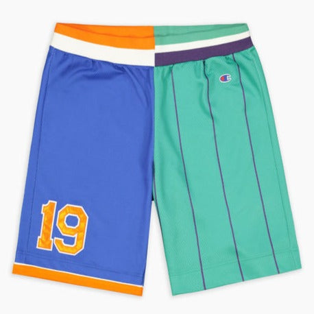 Reverse weave basketball shorts