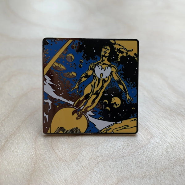 Wuniverse pin badge