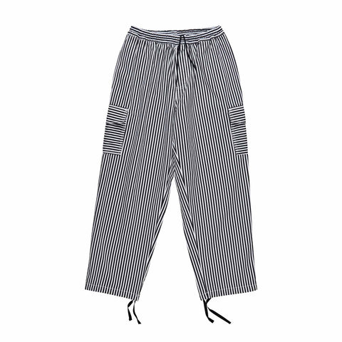 Striped cargo pants