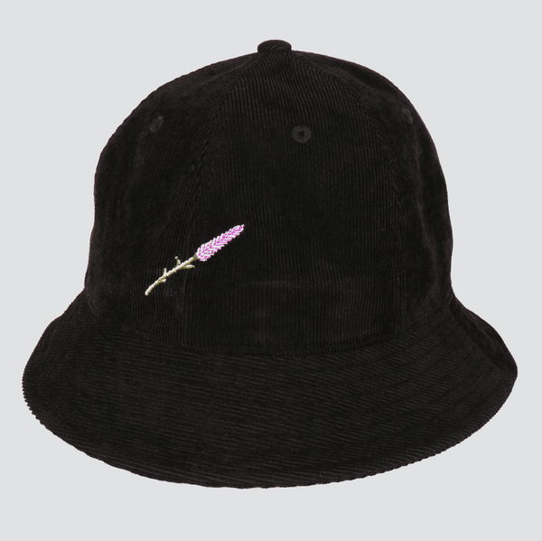 Lavender bucket hat - Black