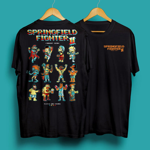 Springfield fighter tee