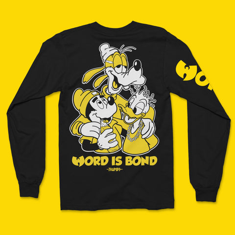 Word is bond longsleeve tee