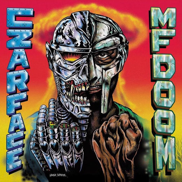 CZARFACE+MF DOOM-CZARFACE MEETS  METAL FACE