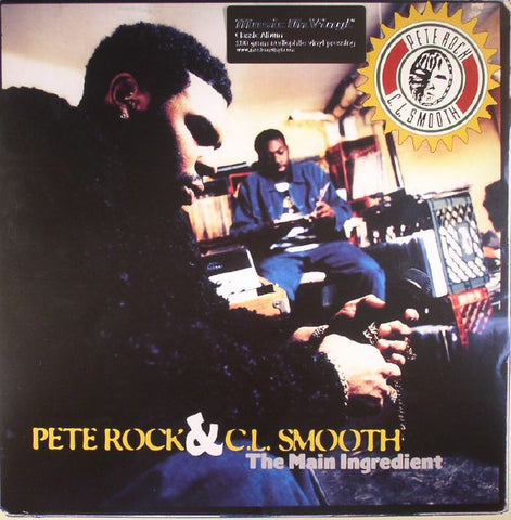 Pete ROCK & CL SMOOTH The Main Ingredient (180 gram audiophile vinyl 2xLP)
