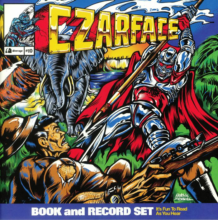 CZARFACE Double Dose Of Danger (Record Store Day 2019) (limited LP in 20 page comic book sleeve)