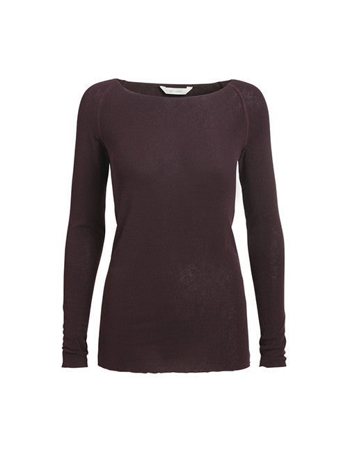 Amalie Boatneck - Burgundy - The Nest Shop