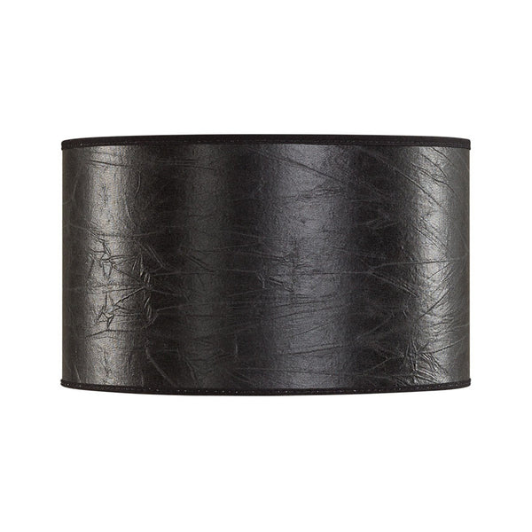 CYLINDER Shade S - Black Leather - The Nest Shop