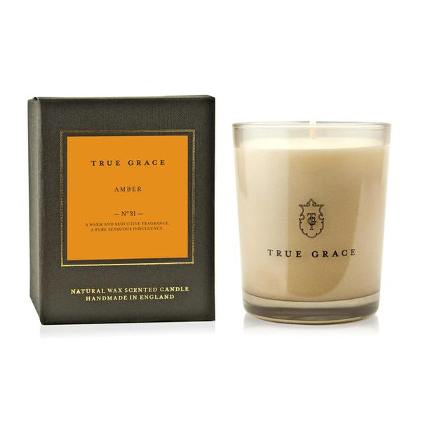 True Grace - Manor Classic Candle - Amber - The Nest Shop