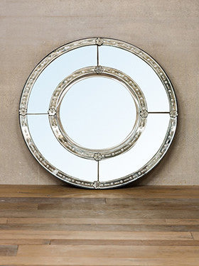 Venetian mirror - Round - The Nest Shop