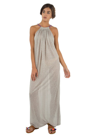 Aegean Long Dress - Grey