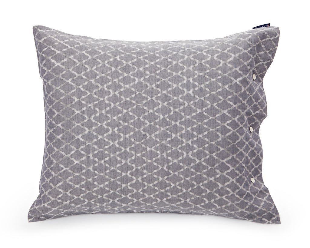 Blue Jaquard Pillow - 50 x 70 - The Nest Shop