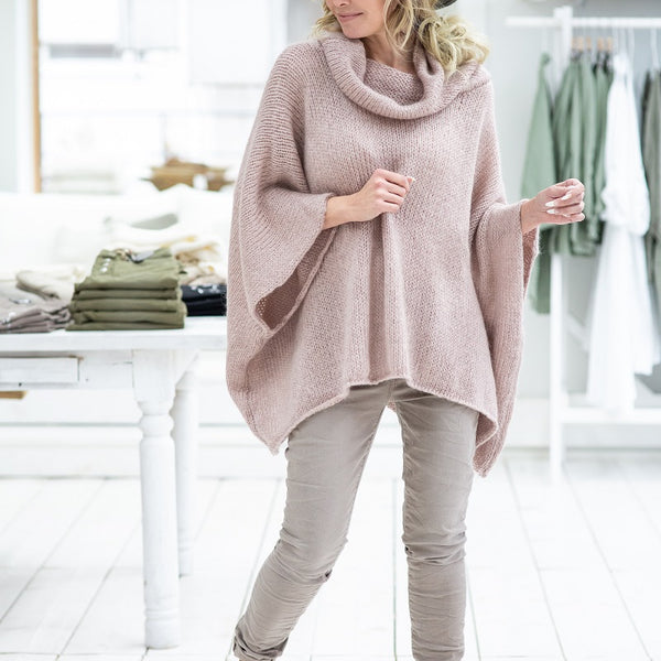 ByPias - Loosely Mohair Jumper - Rosa