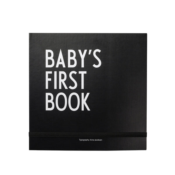 Designletters - Baby´s First Book - Black - The Nest Shop