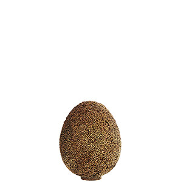 Standing egg with beads - Gold - small - The Nest Shop