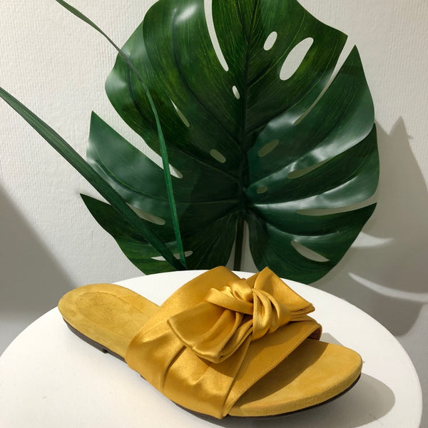 Billi Bi - Satin Sandal - Sunflower - The Nest Shop