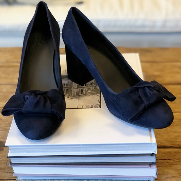 Billi Bi - Midnight Suede Pump - The Nest Shop