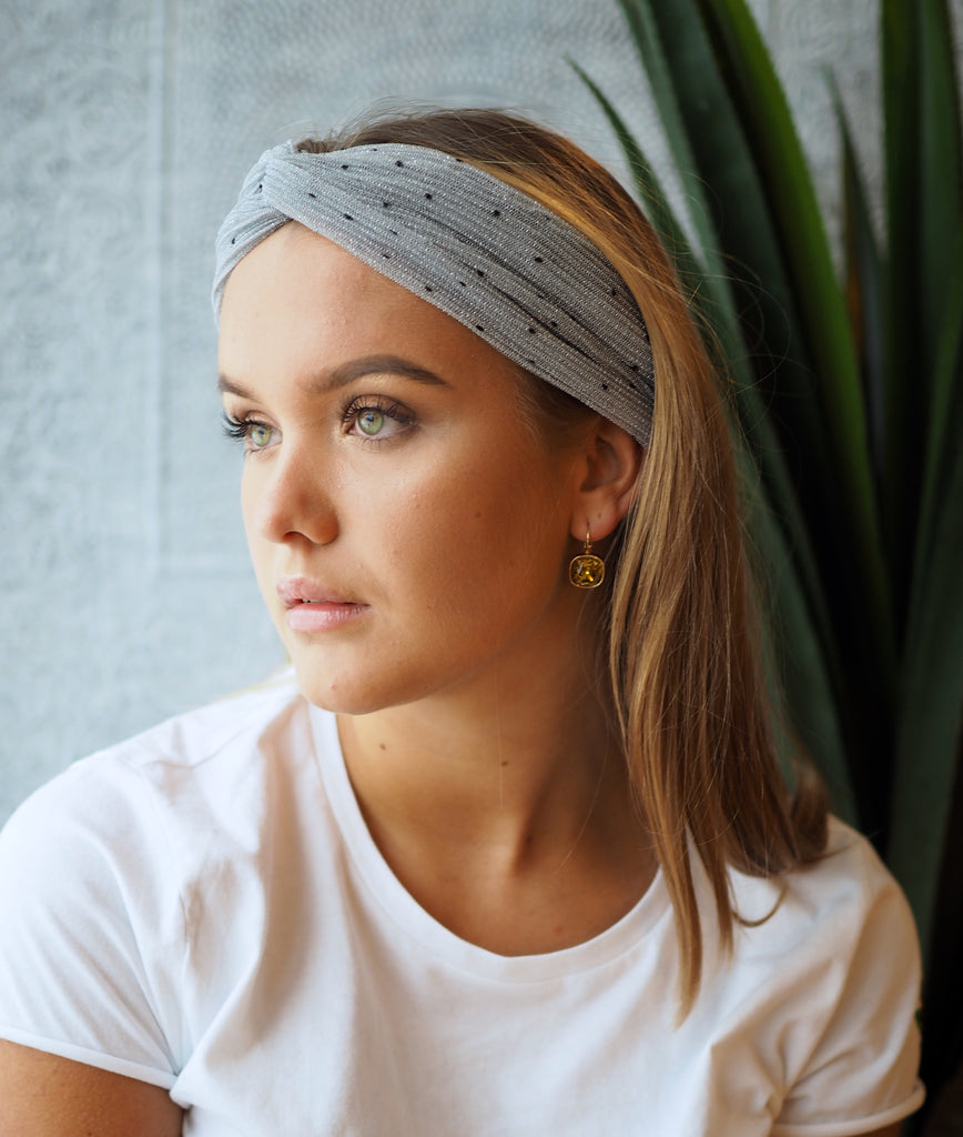 Beck Sondergaard - Hairband Dot - Grey - The Nest Shop