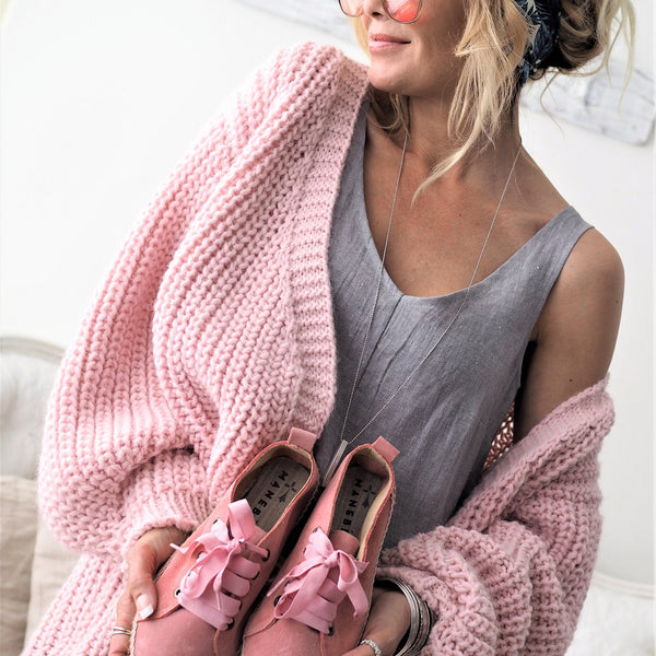 ByPias - Love Knit Cardigan - Pink - The Nest Shop