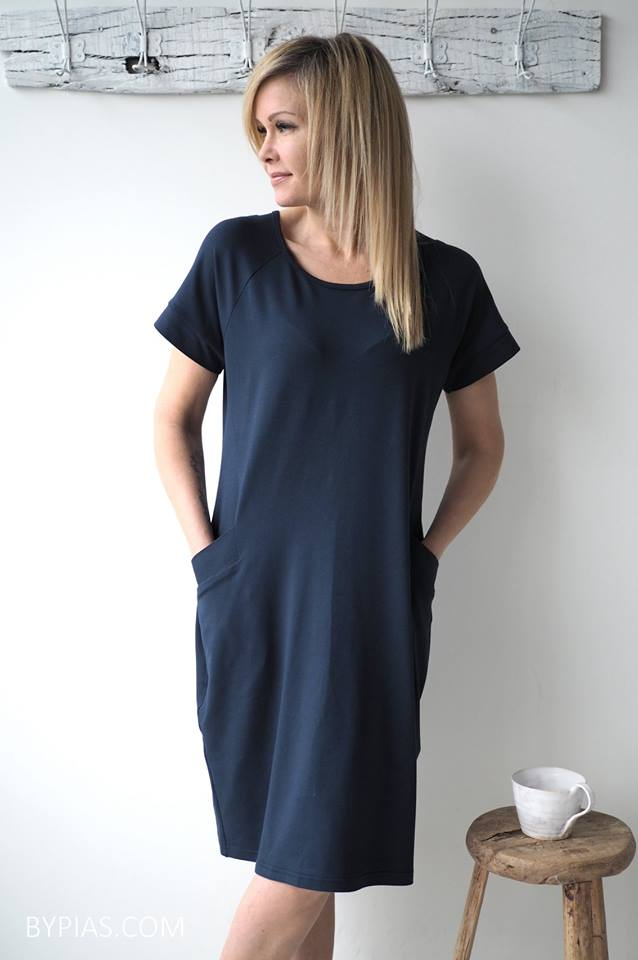 Bamboo Sandy Tunic - Navy - The Nest Shop