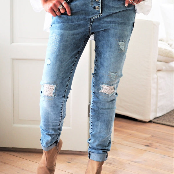 ByPias - Perfect Jeans Relaxed Fit - Light Blue - The Nest Shop