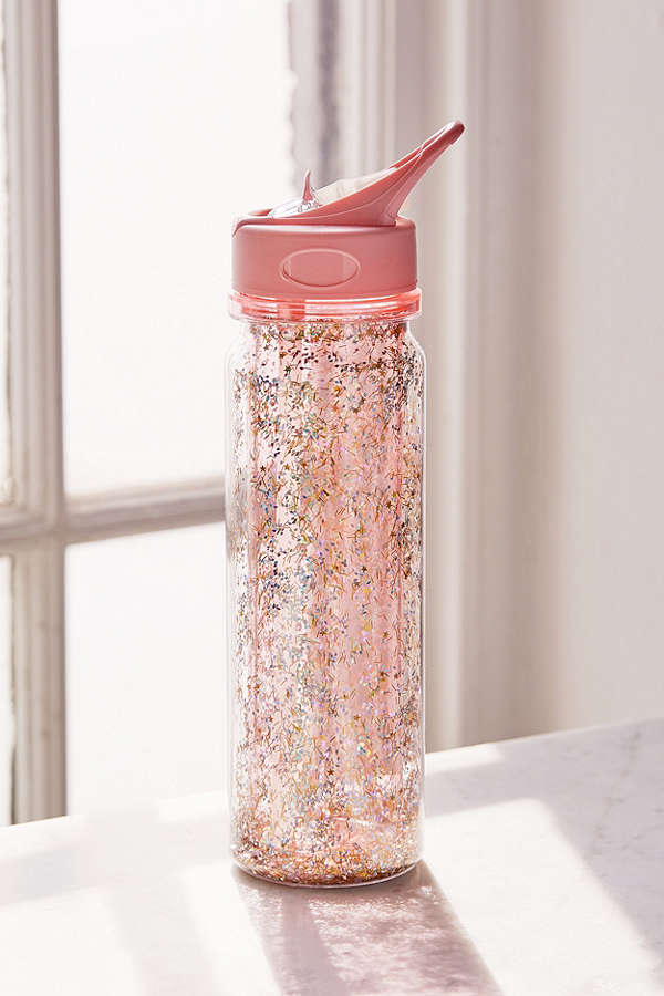 Ban.do - Glitter Bomb Waterbottle - Pink - The Nest Shop