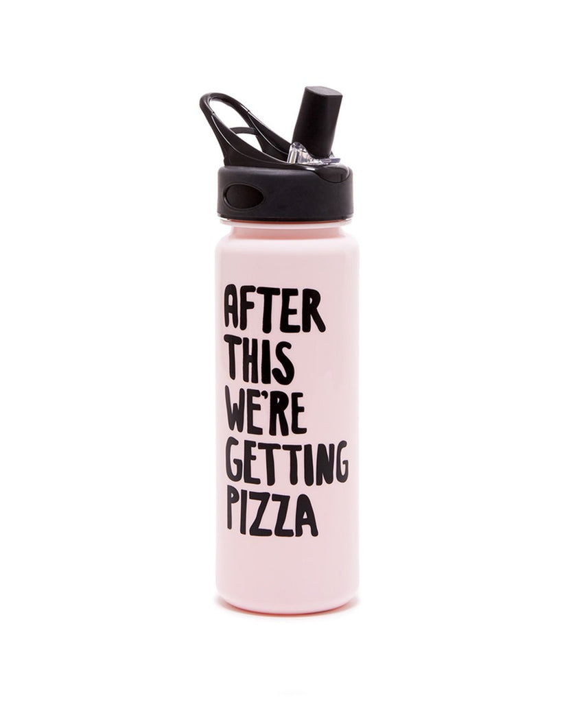 Ban.do - Workout bottle - After this we´re getting pizza - The Nest Shop