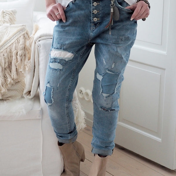 ByPias - Perfect Jeans Worker - Denim Blue - The Nest Shop