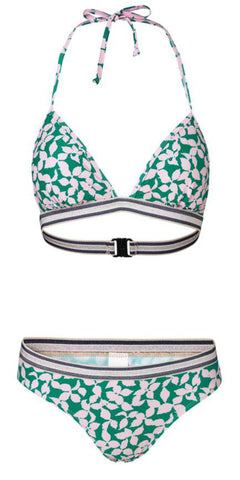Beck Söndergaard - Bikini Flourish - Pepper Green