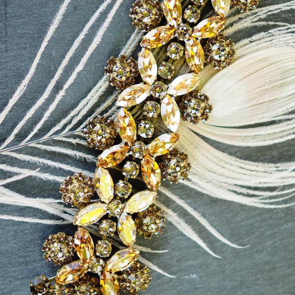 Caprice Decadent - Rococò Bracelet - Champagne - The Nest Shop