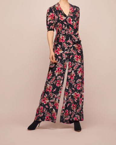 By Ti-Mo - Printed Jumpsuit - Rose Tapestry