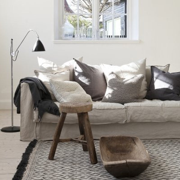 Tassel Cotton Rug - 80 x 200 cm - The Nest Shop