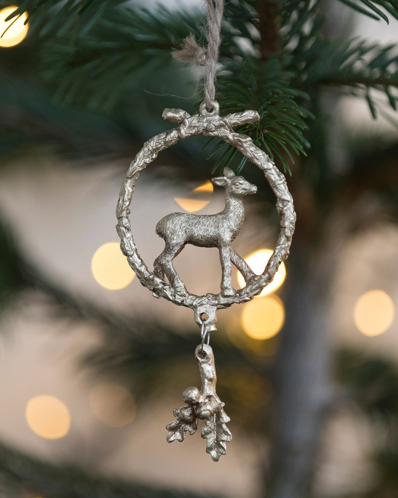 Bambi in wreath - The Nest Shop